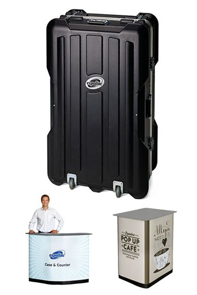 EXPOLINC Transportkoffer Case&Counter