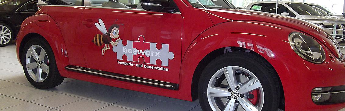 Autobeschriftung Beeworxr