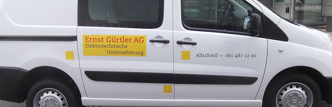 Autobeschriftung Elektro Gürtler