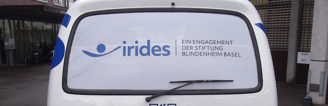 Autobeschriftung Irides