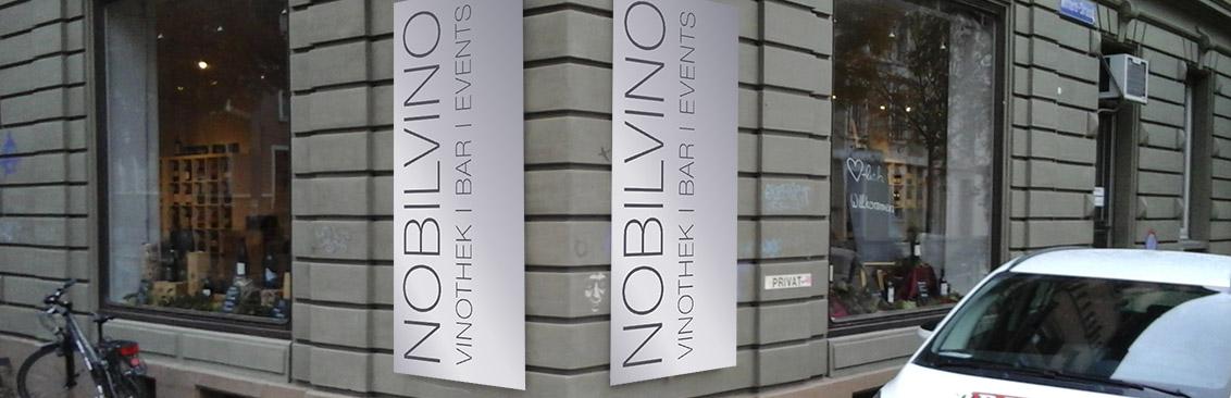 Firmenbeschriftung Nobilvino