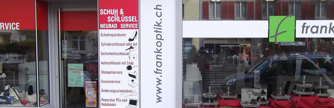 Schaufenster Schluesselservice