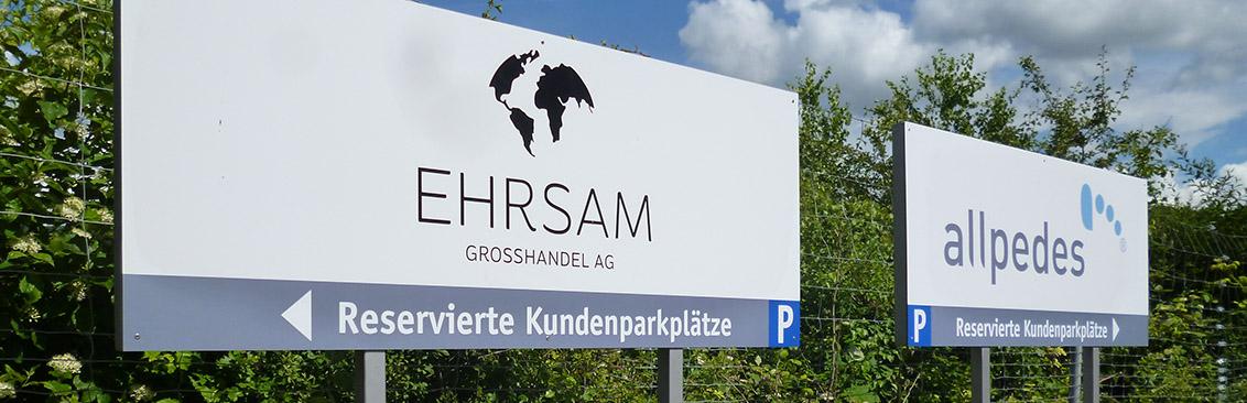 Firmenschild Basel