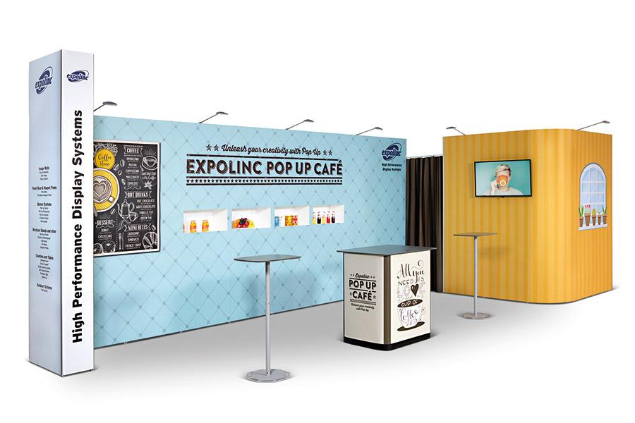 Expolinc mobiler Messestand Beispiel 7