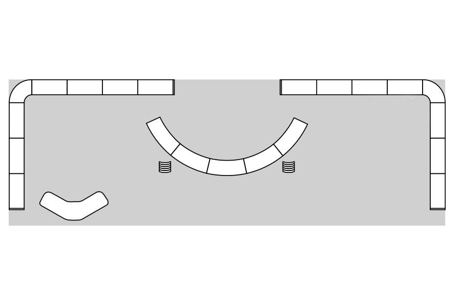 Expolinc mobiler Messestand Beispiel 6