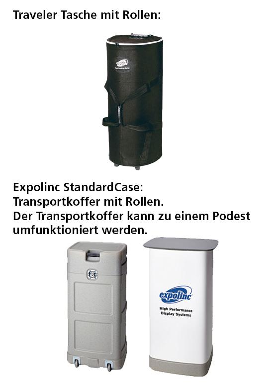 mobile Theken und Taschen