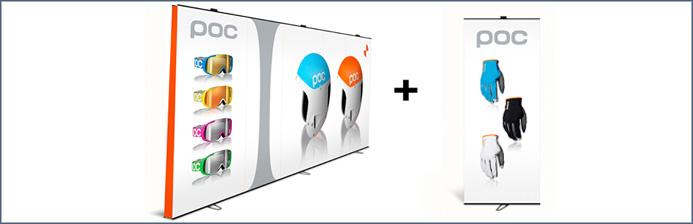 Expand LinkWall flexibles Displaysystem 2
