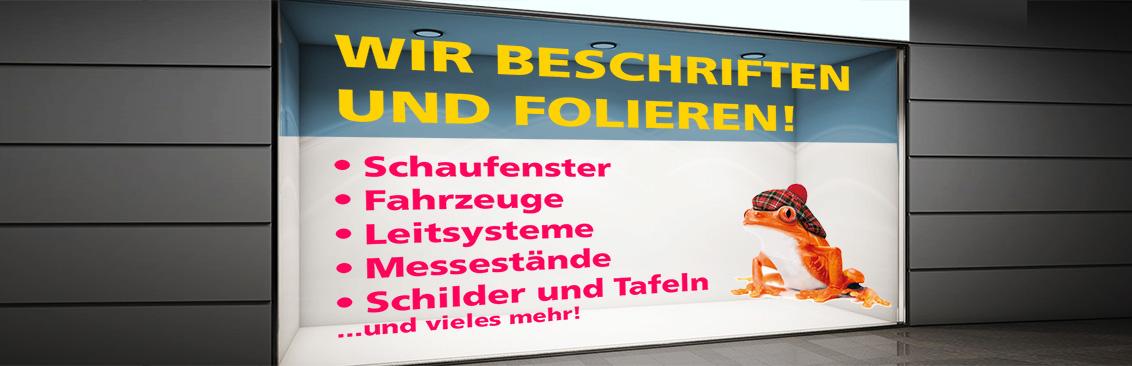 Beschriftungen Basel