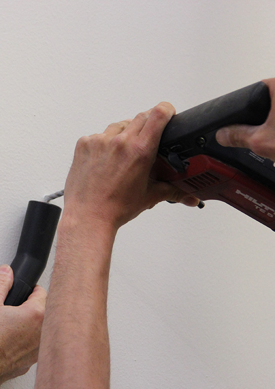 Aluframe-Aufbau Endress + Hauser 6